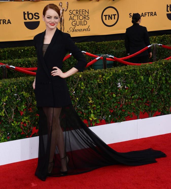 Emma Stone le 25 janvier 2015