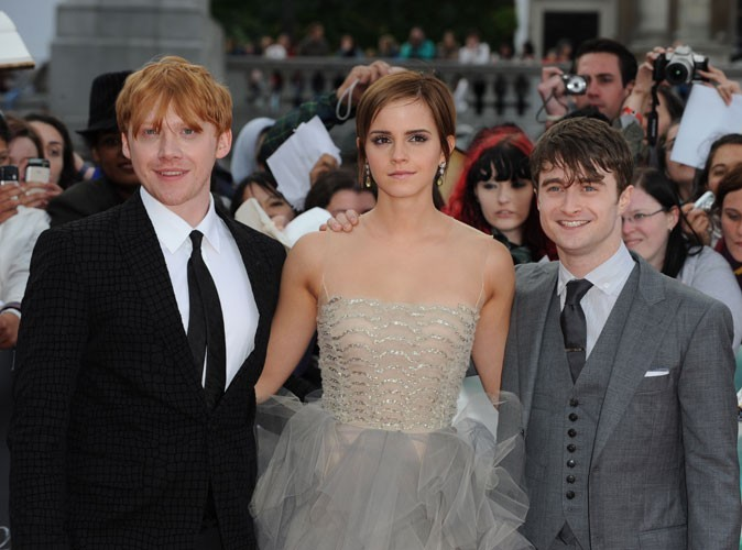 Photos : l'équipe d'Harry Potter en 2011