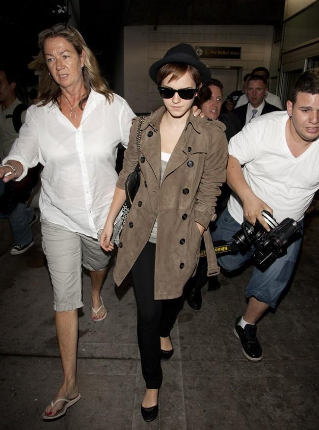 La voilà arrivée à New-York !