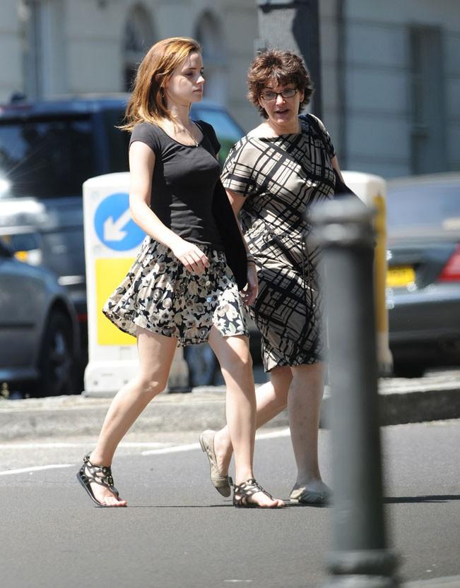 Emma Watson à Londres le 21 juillet 2013