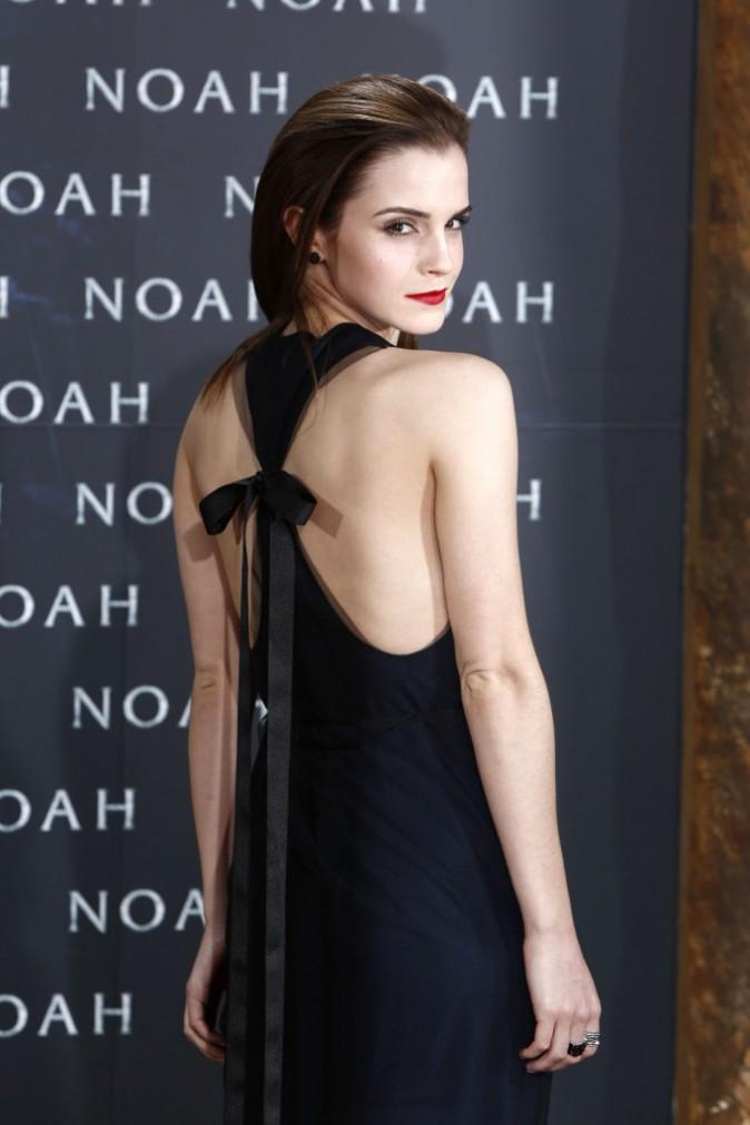 "Emma Watson lors de la première du film ""Noah"" à Berlin, le 13 mars 2014."