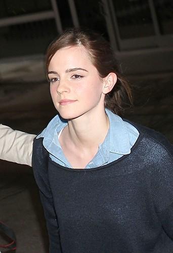 Emma Watson à Los Angeles le 28 février 2014