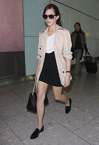 Emma Watson à Londres le 5 mars 2014