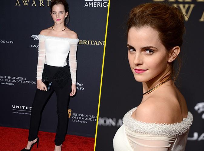Emma Watson : �l�gante et styl�e aux Britannia Awards !