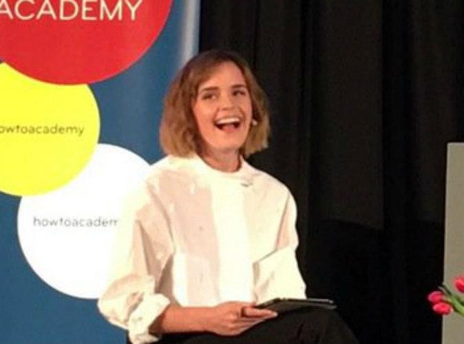 """Photos : Emma Watson : """"En fait je suis Hermione Granger!"""""""