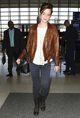 Emma Watson à Los Angeles le 23 octobre 2013