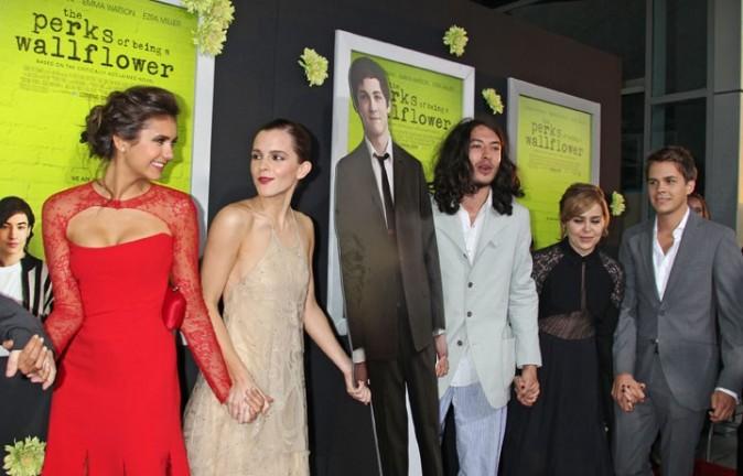 Emma Watson à l'avant-première de The Perks of Being A Wallflower à Los Angeles le 10 septembre 2012