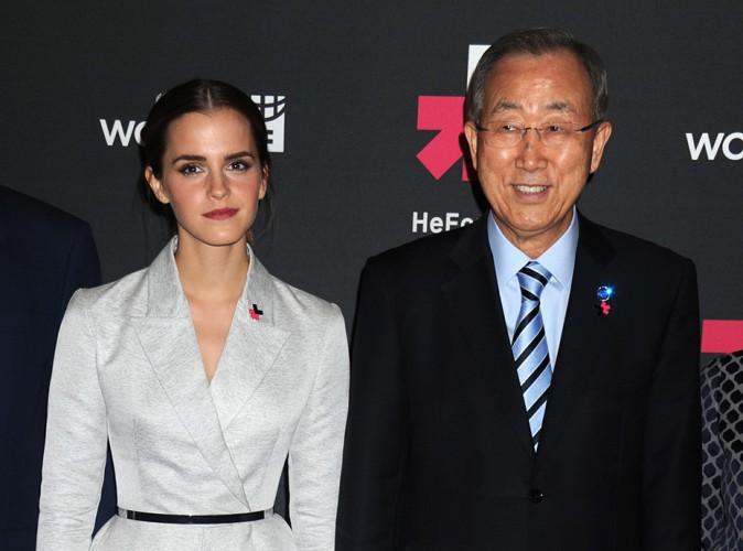 Emma Watson : une ambassadrice de charme � New York !