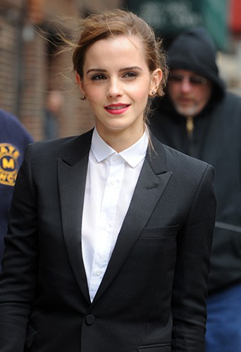 Emma Watson à New York le 25 mars 2014