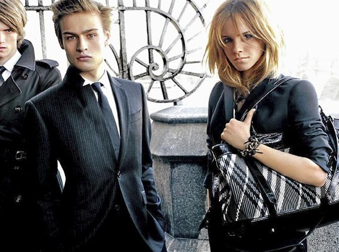 Photos : Emma Watson pour la campagne Burberry