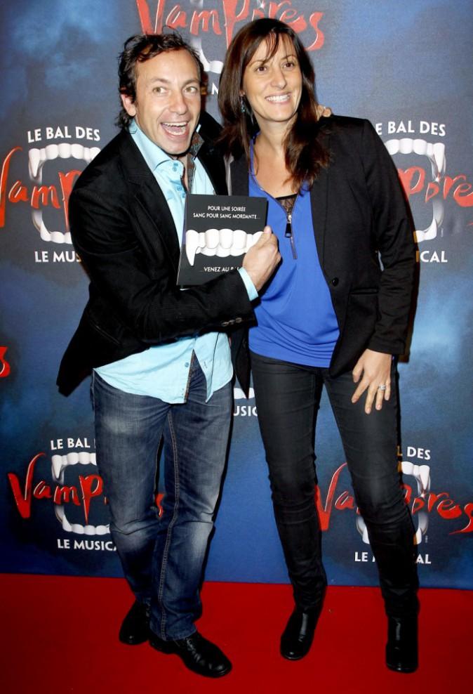 Philippe Candeloro et sa compagne