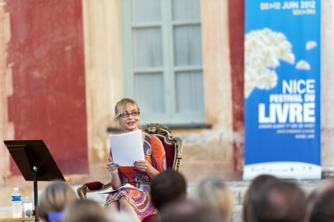 Emmanuelle Béart le 8 juin 2012 à Nice
