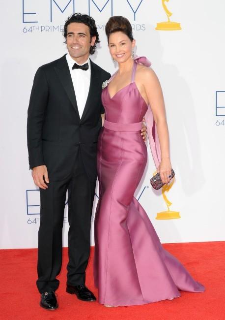 Ashley Judd et Dario Franchitti lors des Emmy Awards à Los Angeles, le 23 septembre 2012.