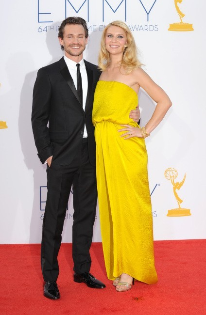 Claire Danes et son mari Hugh Dancy lors de la 64e cérémonie des Emmy Awards à Los Angeles, le 23 septembre 2012.