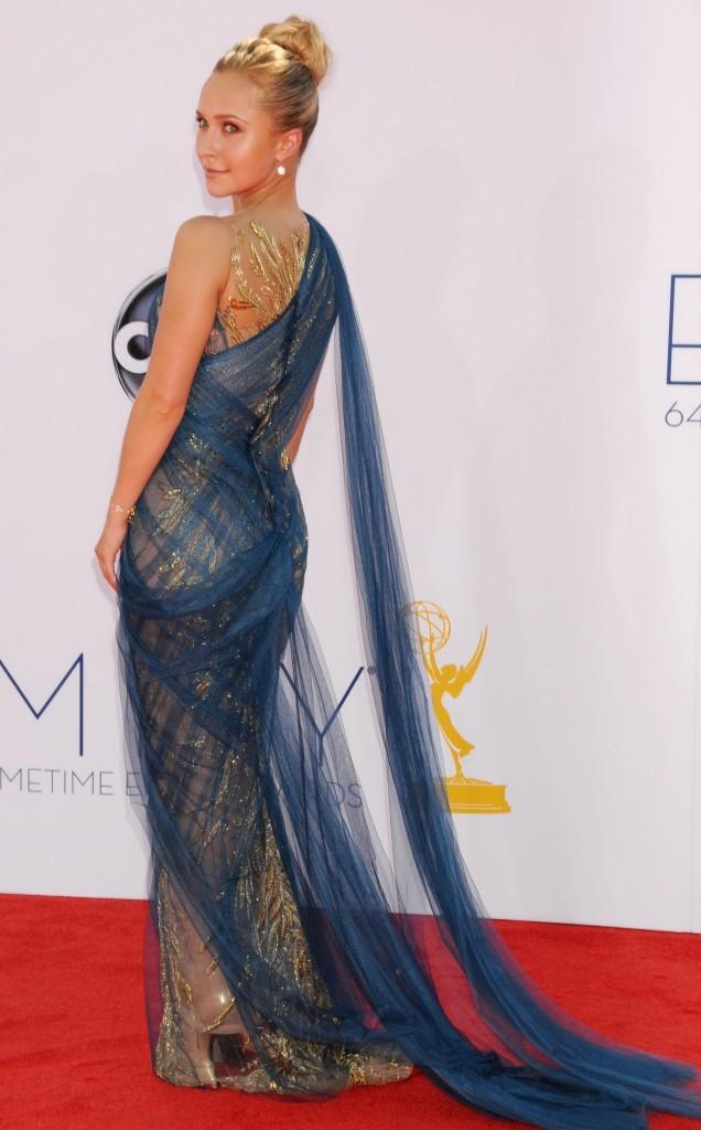 Hayden Panettiere lors de la 64e cérémonie des Emmy Awards à Los Angeles, le 23 septembre 2012.