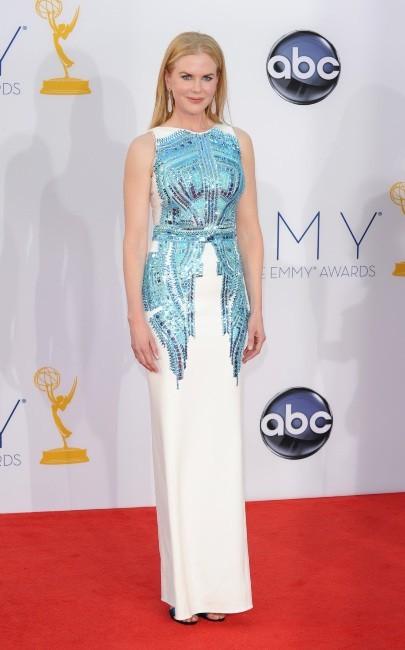 Nicole Kidman lors de la 64e cérémonie des Emmy Awards à Los Angeles, le 23 septembre 2012.