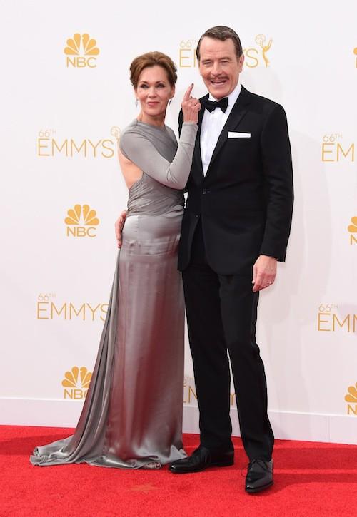 Bryan Cranston (Breaking Bad) et Robin Dearden (mariés en 1984)