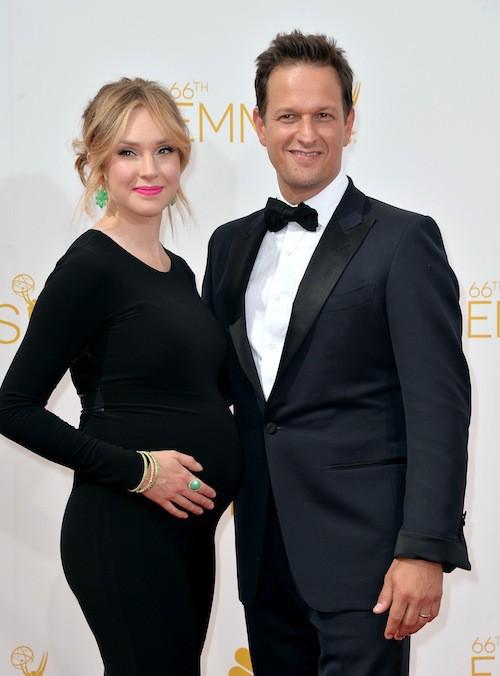 Sophie Flack et Josh Charles (mariés en 2013)