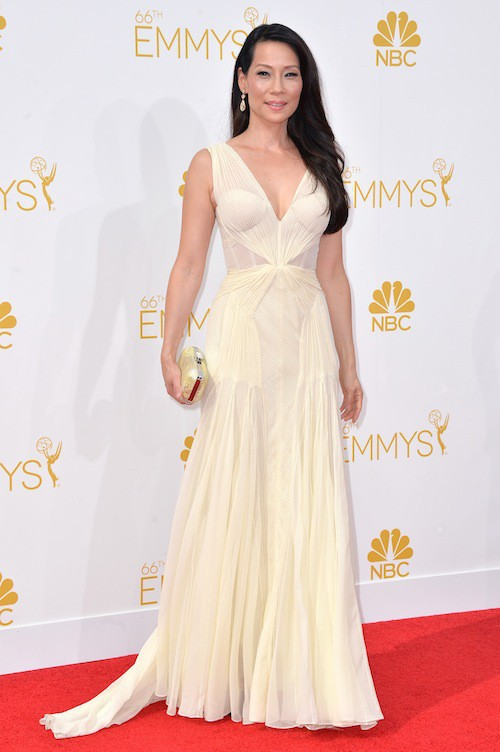 Lucy Liu aux Emmy Awards 2014