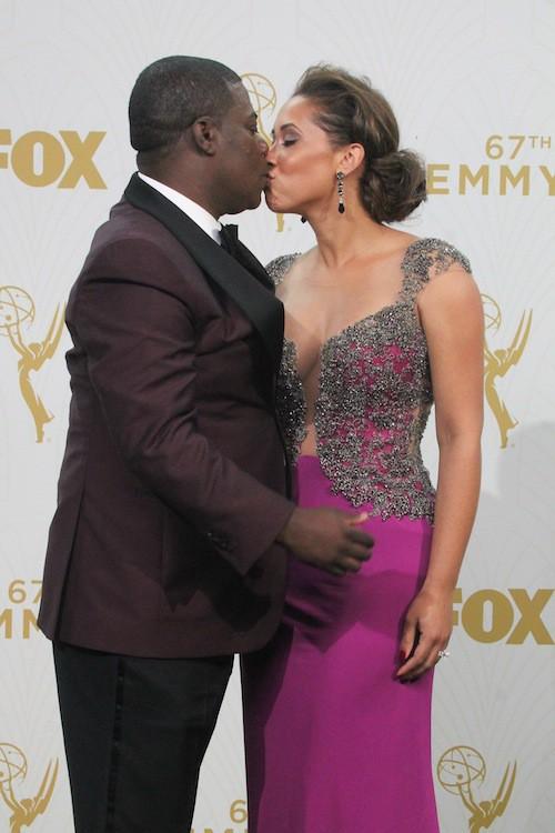 Photos : Emmy Awards 2015 : le retour émouvant de Tracy Morgan, un an après son accident !