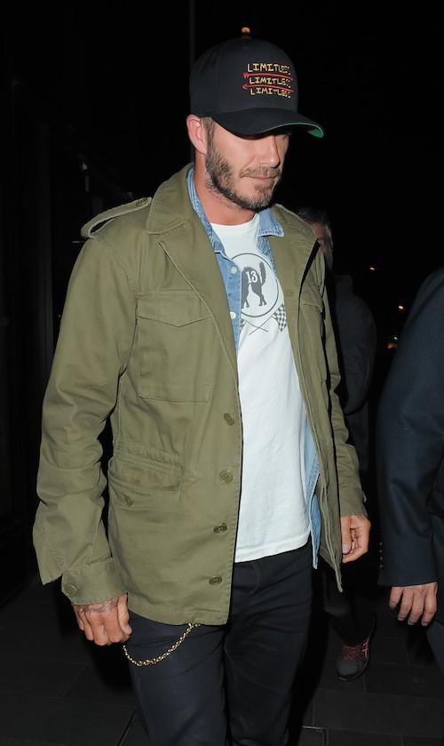Photos : David Beckham et Gary Neville ensemble avant les obsèques de Neville Neville…