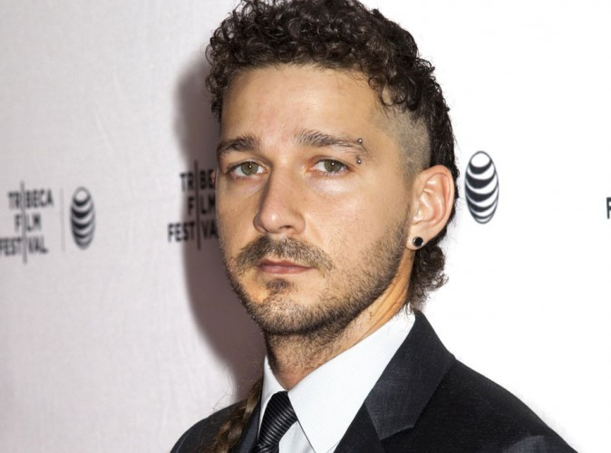 Photos : en plus de sa queue de rat, Shia LaBeouf tente un nouvel effet capillaire !