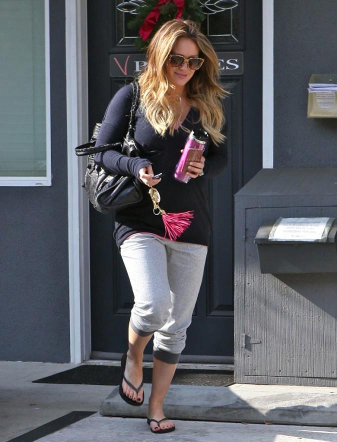Hilary Duff : Un look d'été pour la future maman !