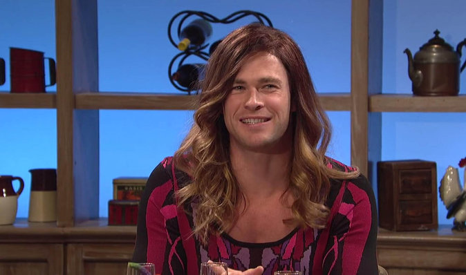 Photos : Encore une transformation pour Chris Hemsworth !