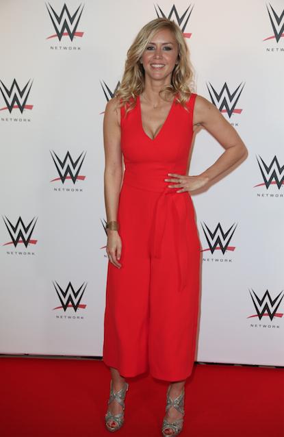 Enora Malagré à la WWE Live ce vendredi 22 avril