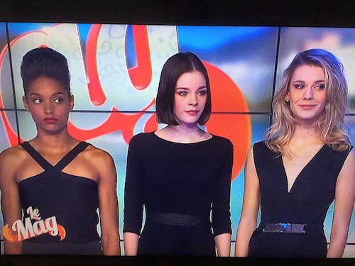Les filles finalistes