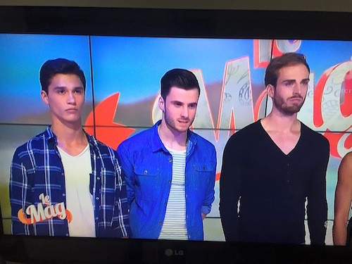 Les garçons finalistes