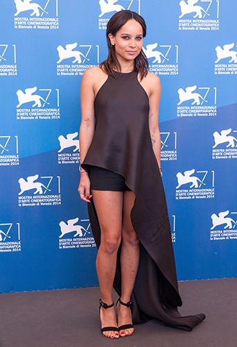 Zoë Kravitz à Venise le 5 septembre 2014