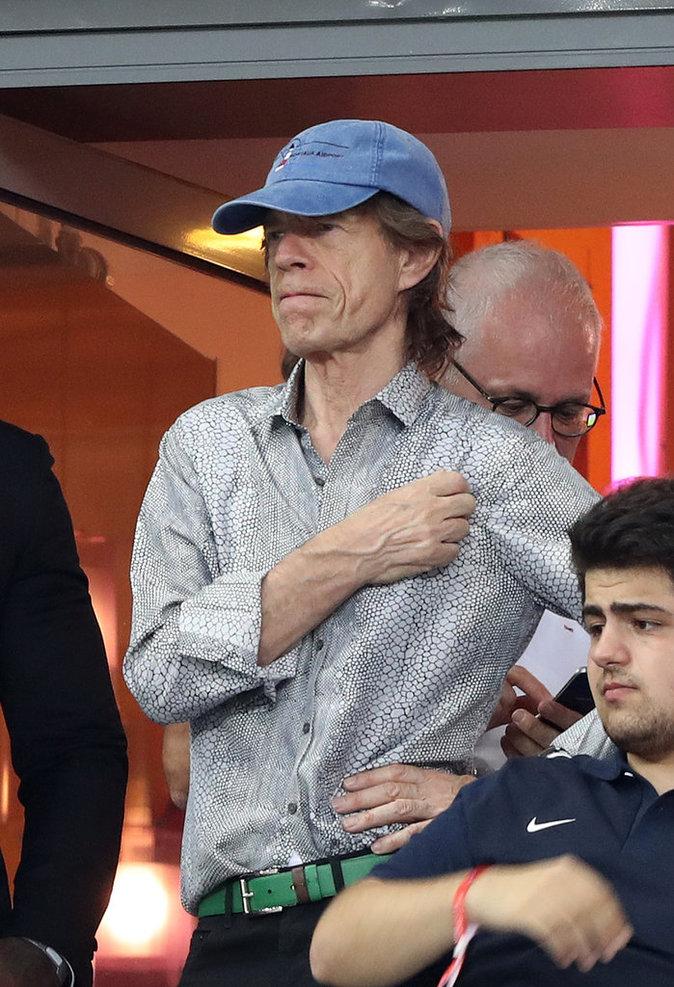 Mike Jagger, membre des Rolling Stones, étaient également de la partie