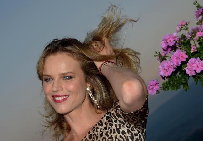 Eva Herzigova lors du Taormina Film Festival en Sicile, le 18 juin 2013.