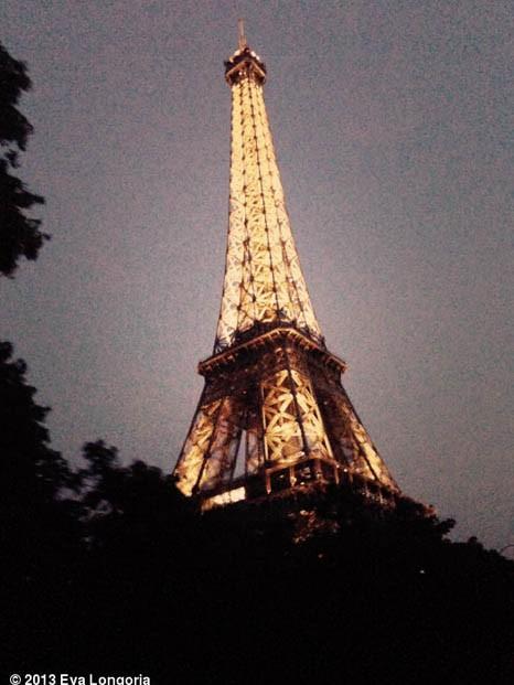 La Tour Eiffel vue par Eva !