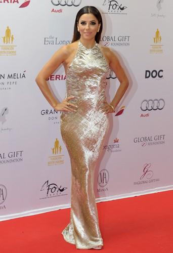 Eva Longoria à Marbella le 20 juillet 2014
