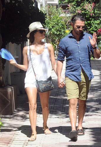 Eva Longoria et Jose Antonio Baston à Marbella le 20 juillet 2014