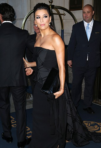 Eva Longoria à New York le 23 septembre 2014
