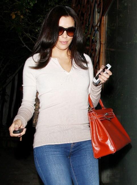 Eva Longoria le 16 janvier 2013 à Los Angeles