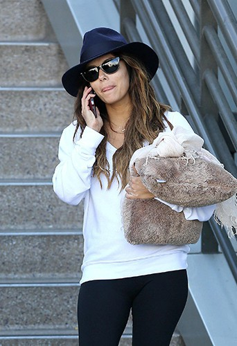 Eva Longoria à Los Angeles le 28 octobre 2013