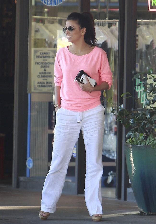 Eva Longoria à Los Angeles le 9 août 2013