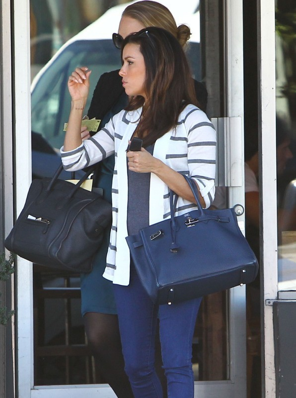 Eva Longoria le 25 octobre 2012 à Los Angeles