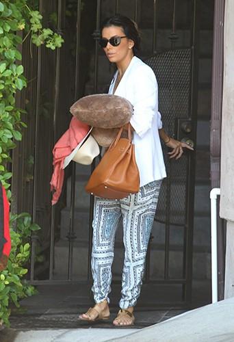 Eva Longoria à Los Angeles le 25 juillet 2014