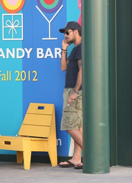 Eduardo Cruz dans le West Hollywood le 2 juillet 2012
