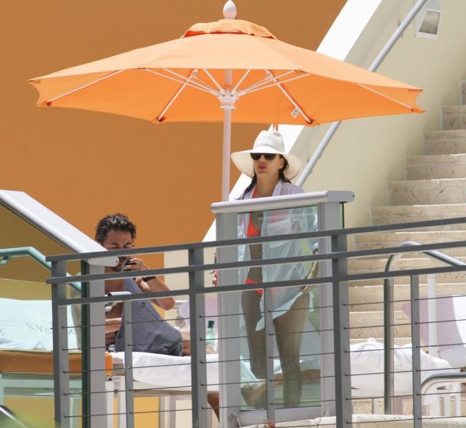 Eva Longoria à Miami, le 1er juillet 2015