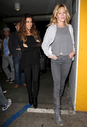 Eva Longoria et Melanie Griffith à Los Angeles le 2 novembre 2013