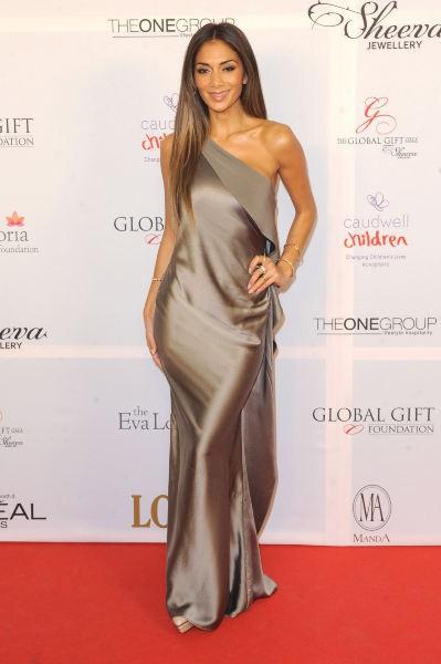 Nicole Scherzinger lors du Global Gift Gala à Londres, le 19 novembre 2013.