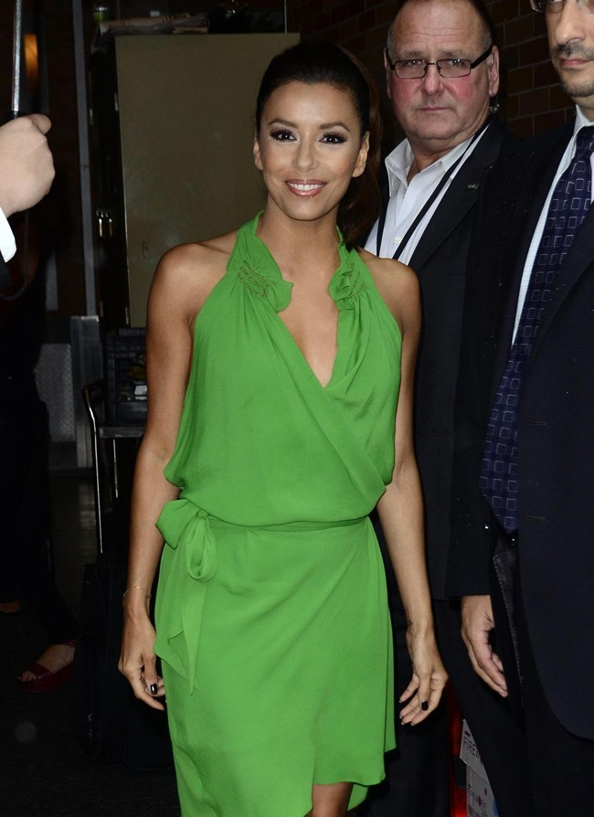 Eva Longoria le 20 juillet 2012 à New York