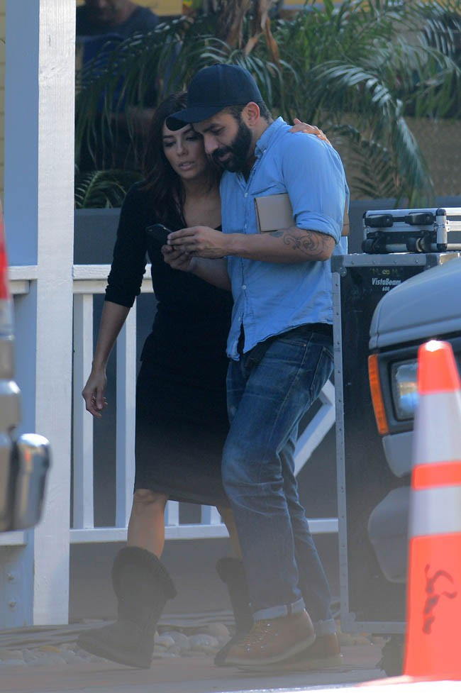 Eva Longoria à Malibu le 5 février 2015