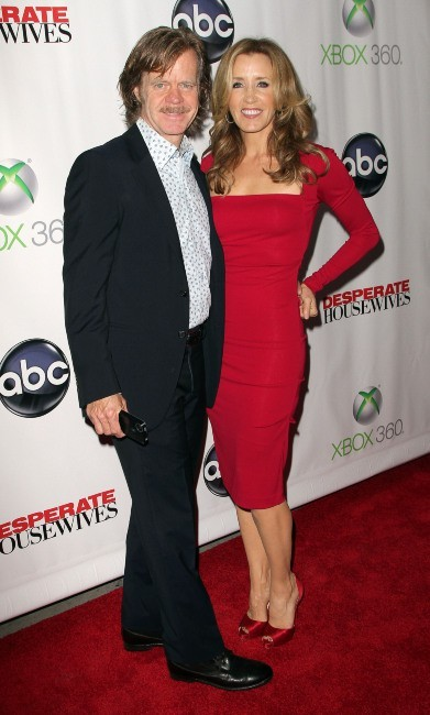 William H. Macy et Felicity Huffman lors de la Desperate Housewives Final Party à L.A., le 29 avril 2012.